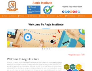 aegiseducation.in screenshot