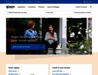 aegon.nl screenshot