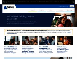 aegonse.co.uk screenshot