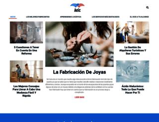 aeic.es screenshot