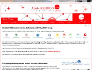 aem-solution.de screenshot