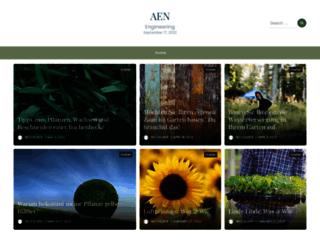 aen-engineering.de screenshot
