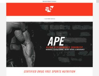 aenutrition.com screenshot
