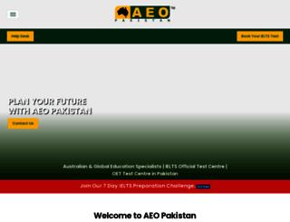 aeo.com.pk screenshot