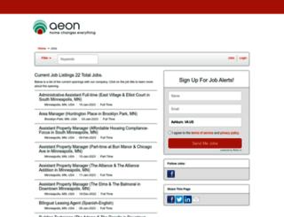 aeonmn.iapplicants.com screenshot