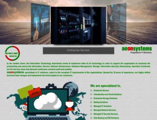 aeonsystem.com screenshot
