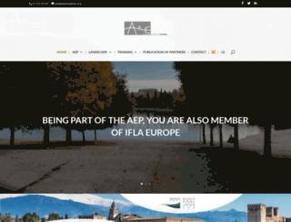 aepaisajistas.org screenshot