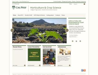 aeps.calpoly.edu screenshot