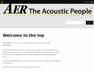 aer-amps.com screenshot
