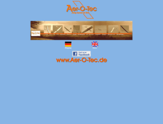 aer-o-tec.de screenshot
