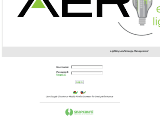 aer.streamlinx.com screenshot