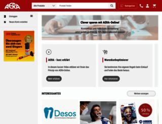 aera-online.de screenshot