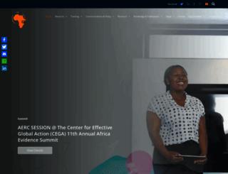 aercafrica.org screenshot