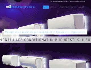 aerconditionat-clasaa.ro screenshot