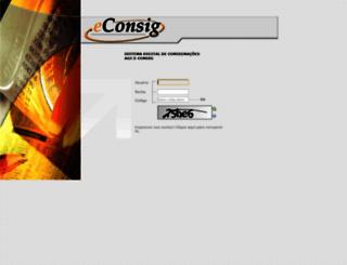 aerconsig.com.br screenshot
