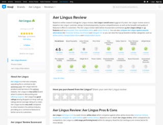 aerlingus.knoji.com screenshot