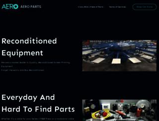 aero-inc.com screenshot