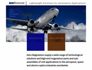 aero-magnesium.com screenshot