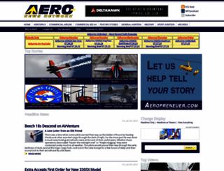 aero-news.net screenshot
