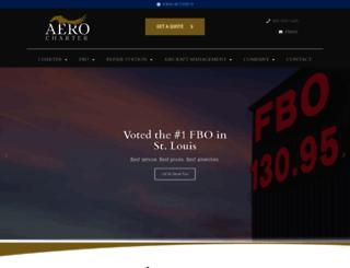 aerocharter.com screenshot
