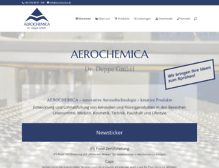 aerochemica.de screenshot