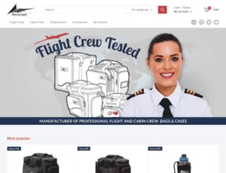 aerocoast.com screenshot