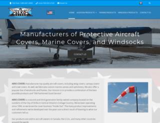 aerocovers.com screenshot