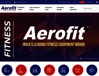 aerofit.co screenshot