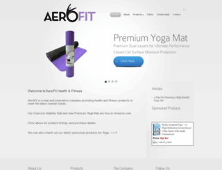 aerofitllc.com screenshot
