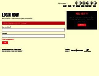aeroforceone.com screenshot