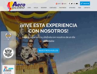 aeroglobo.com screenshot