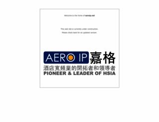 aeroip.net screenshot