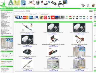aeromodelosamb.com.br screenshot