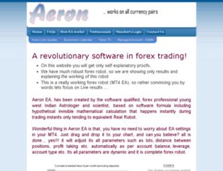 aeroninfo.biz screenshot