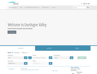 aeroport-brive-vallee-dordogne.com screenshot