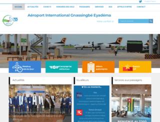 aeroportdelome.com screenshot