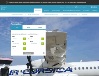 aeroportdolejura.com screenshot