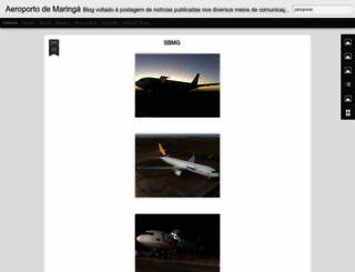 aeroportodemaringa.blogspot.com.br screenshot