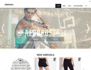 aeropostale.ie screenshot