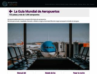 aeropuertosdelmundo.com.ar screenshot