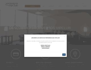 aeropuertosvipclub.com.ar screenshot