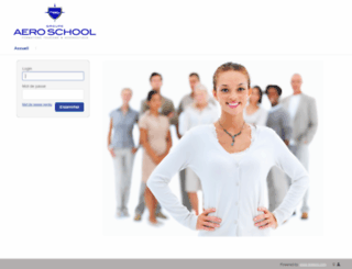 aeroschool.dokeosaas.com screenshot