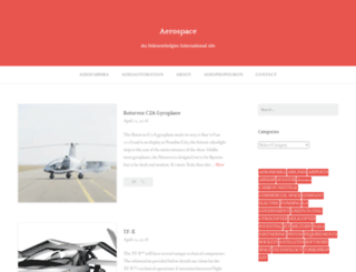 aerospaceblog.wordpress.com screenshot