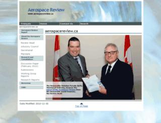 aerospacereview.ca screenshot