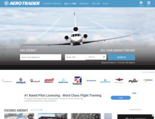 aerotrader.com screenshot