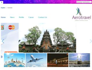aerotravel.co.id screenshot