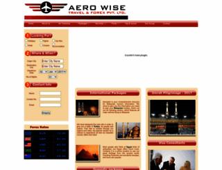 aerowise.in screenshot