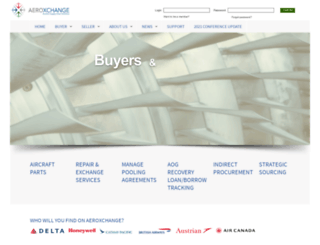 aeroxchange.com screenshot