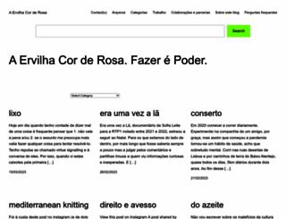 aervilhacorderosa.com screenshot