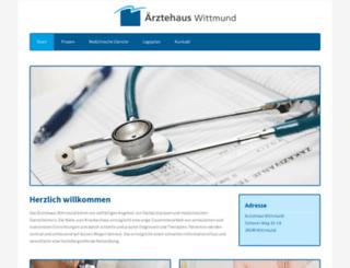 aerztehaus-wittmund.de screenshot